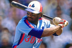 FLUSHING, NY - SEPTEMBER 1989:  Tim Raines #30 of the Montreal Expos batting against the New York Mets in September 1989 at Shea Stadium in Flushing, New York.  (Photo by Ronald C. Modra/Sports Imagery/Getty Images) *** Local Caption *** Tim Raines